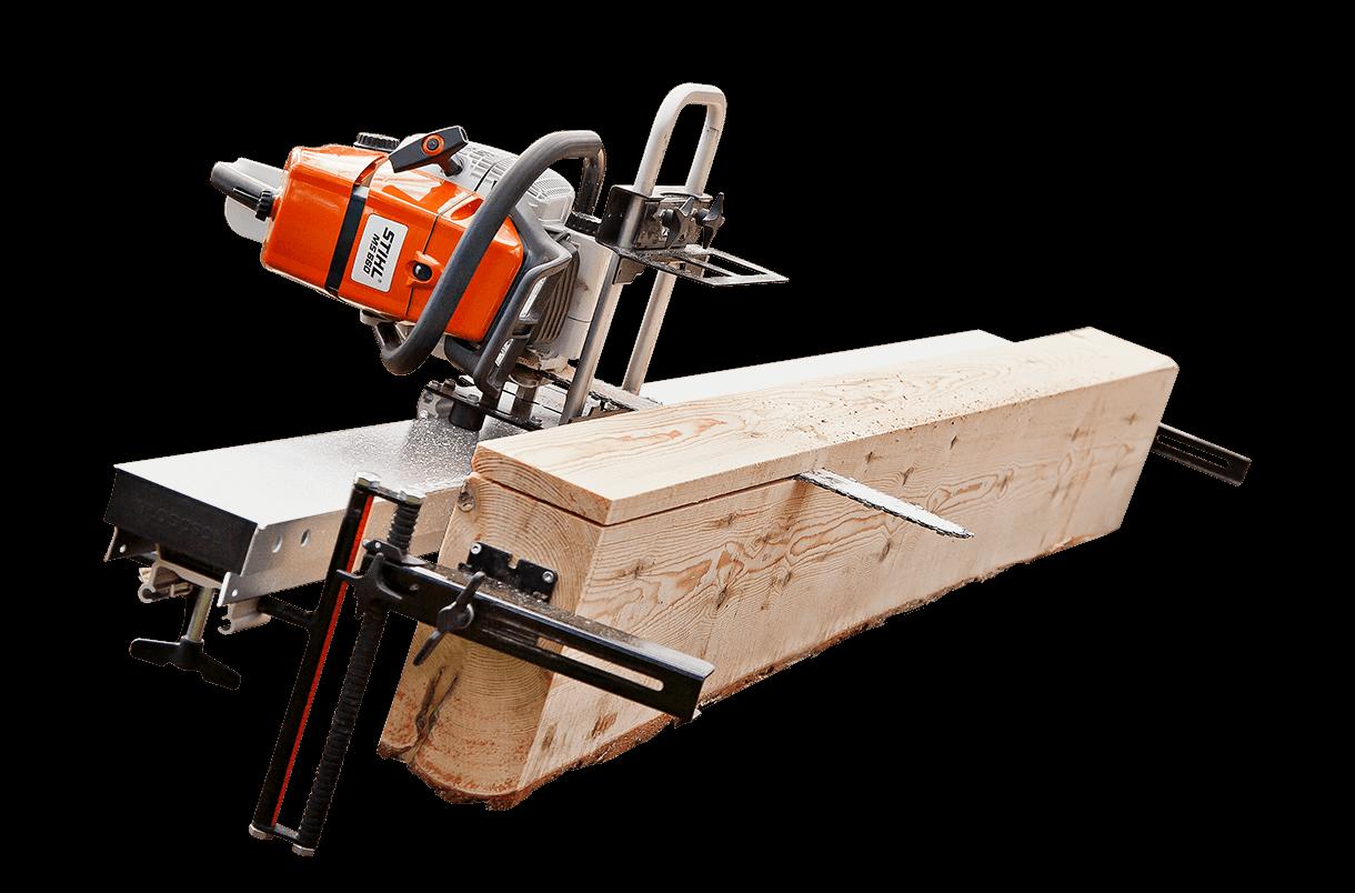 Timberjig Segheria ultra portatile a motosega