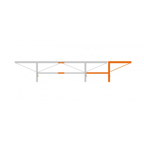 Pacchetto di prolunga da 1,0 m con 1 sollevatore di tronchi aggiuntivo, F2