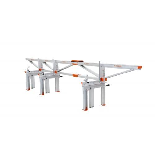 Segheria a catena F2 (5 m) con piano di taglio aggiuntivo