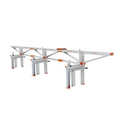 Segheria a catena F2 (6 m) con piano di taglio aggiuntivo